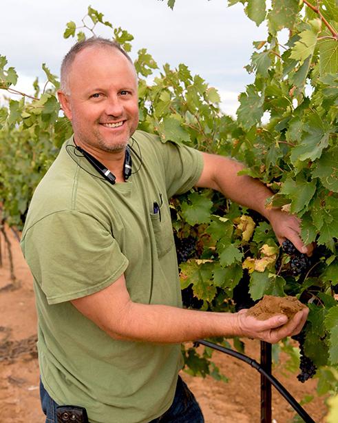 Winemaker John McLoughlin
